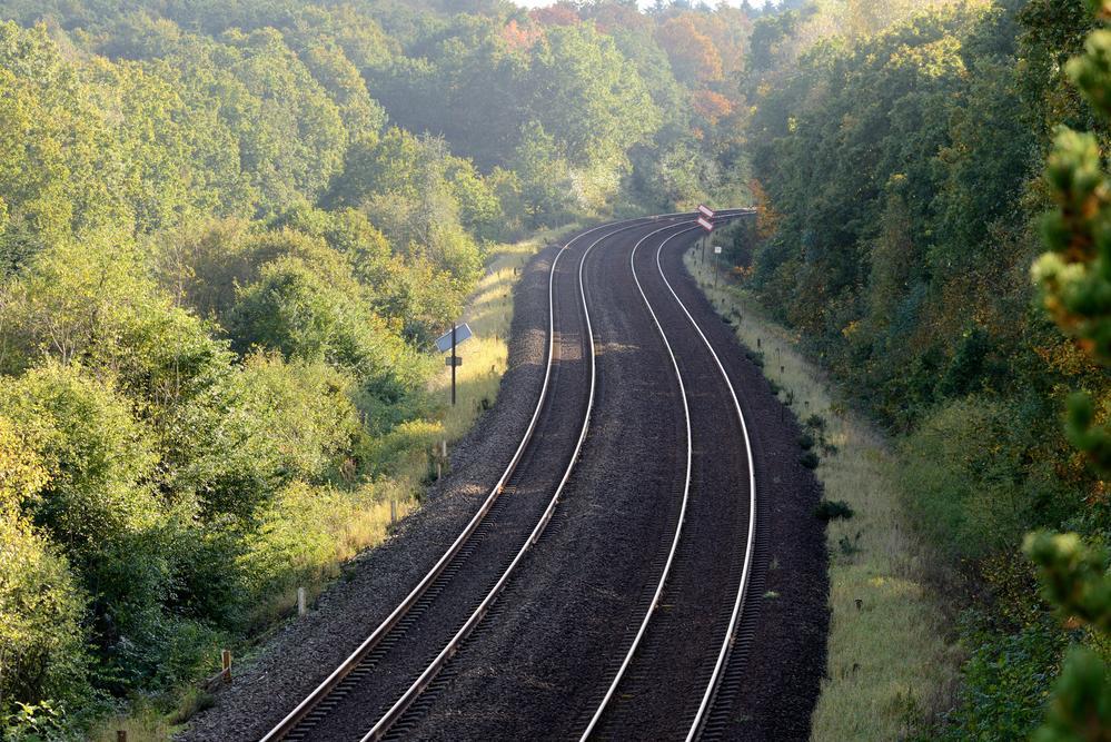 Jernbanen ved Vroldvej